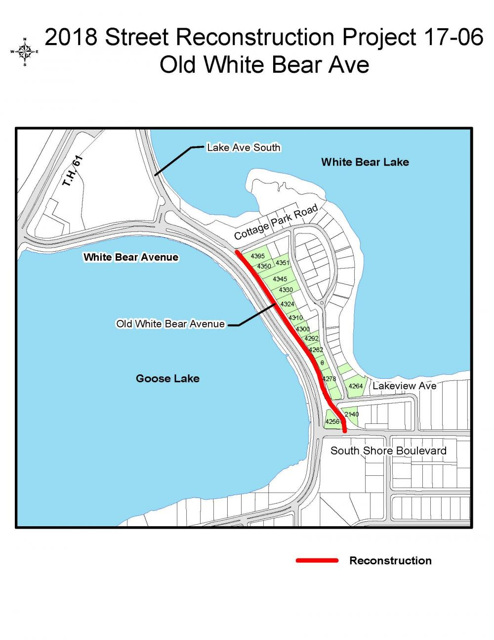 2018 Street Reconstruction Project | White Bear Lake Minnesota